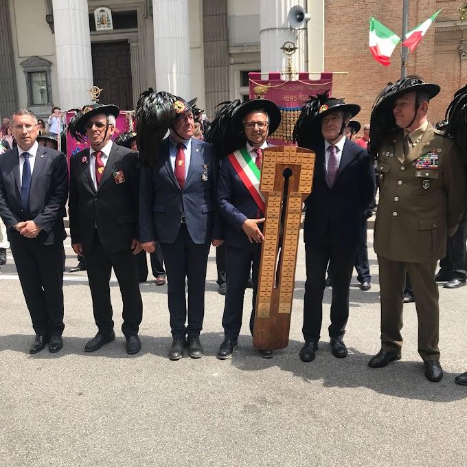 """67esimo raduno Bersaglieri a Matera. Schiavone """"Un risultato positivo frutto di intenso lavoro"""""""