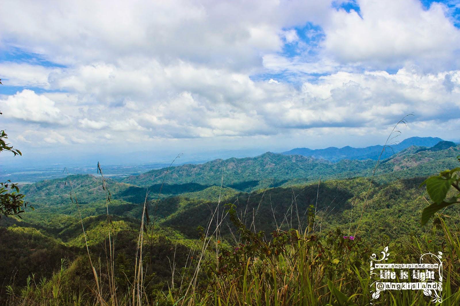 siang terik gunung Ijo