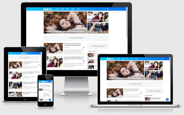 Download Template Blogger Simplify 4.2 Plagiat VioMagz Terbaru By Riyyan seo