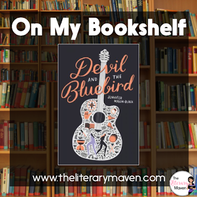 In Devil and the Bluebird by Jennifer Mason-Black, Blue's mother is deceased, her father was just a sperm donor, her sister Cass took off two year ago, her former best friend doesn't understand her and her old boyfriend is no longer of interest to her. When Blue hasn't heard from Cass in far too long, she makes a deal with the devil, trading her voice for the ability to track down her sister, a journey that will take her across the country and into contact with an array of characters, some good, some evil, and some somewhere in between. Read on for more of my review and ideas for classroom use.