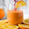 Orange Smoothie Stress Busting