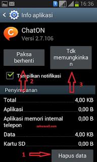 samsung clear data