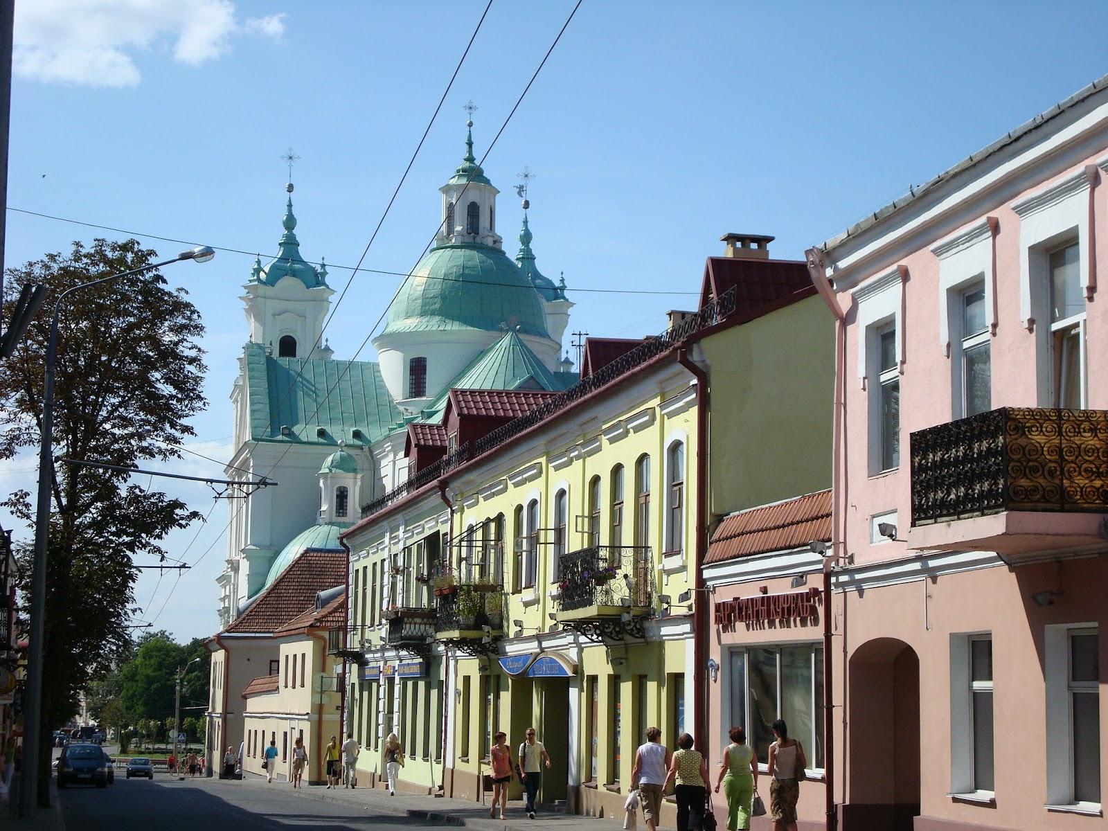 Kresy zaklęte w książkach: Impresje białoruskie - Grodno