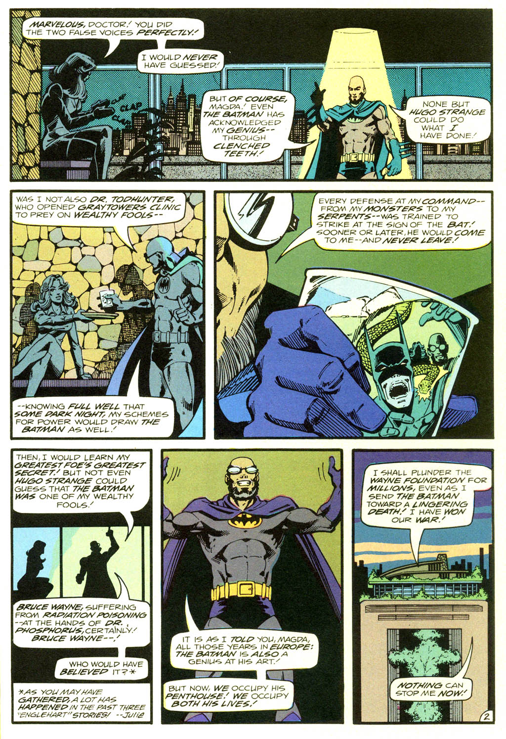 Read online Shadow of the Batman comic -  Issue #2 - 22