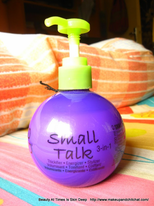 TIGI Small Talk Blah Blah Blah Photo review