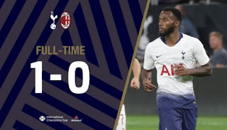Tottenham Hotspur vs AC Milan - 1-0 Video Gol Highlights
