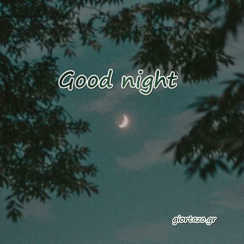Goodnight   ... giortazo