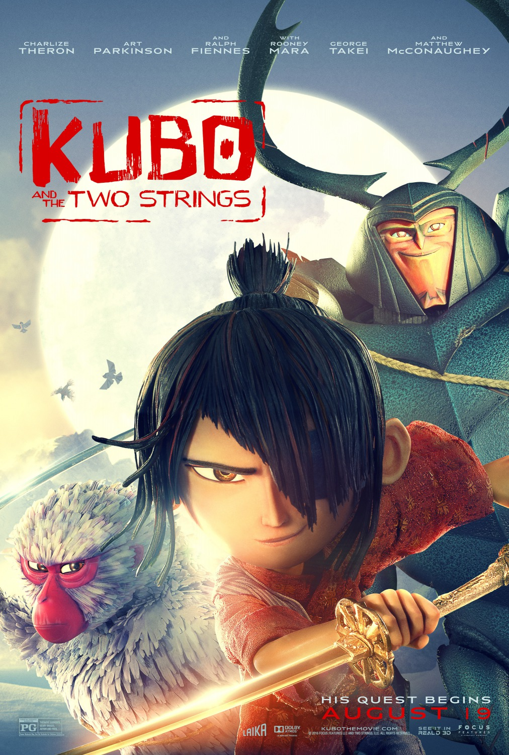 Kubo e as Cordas Mágicas – HD 720p – Legendado