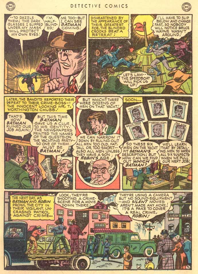 Read online Detective Comics (1937) comic -  Issue #159 - 5