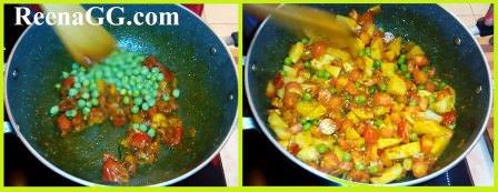 गाजर आलू की सब्ज़ी बनाने की विधि   How to Make Gajar Aalu Sabzi