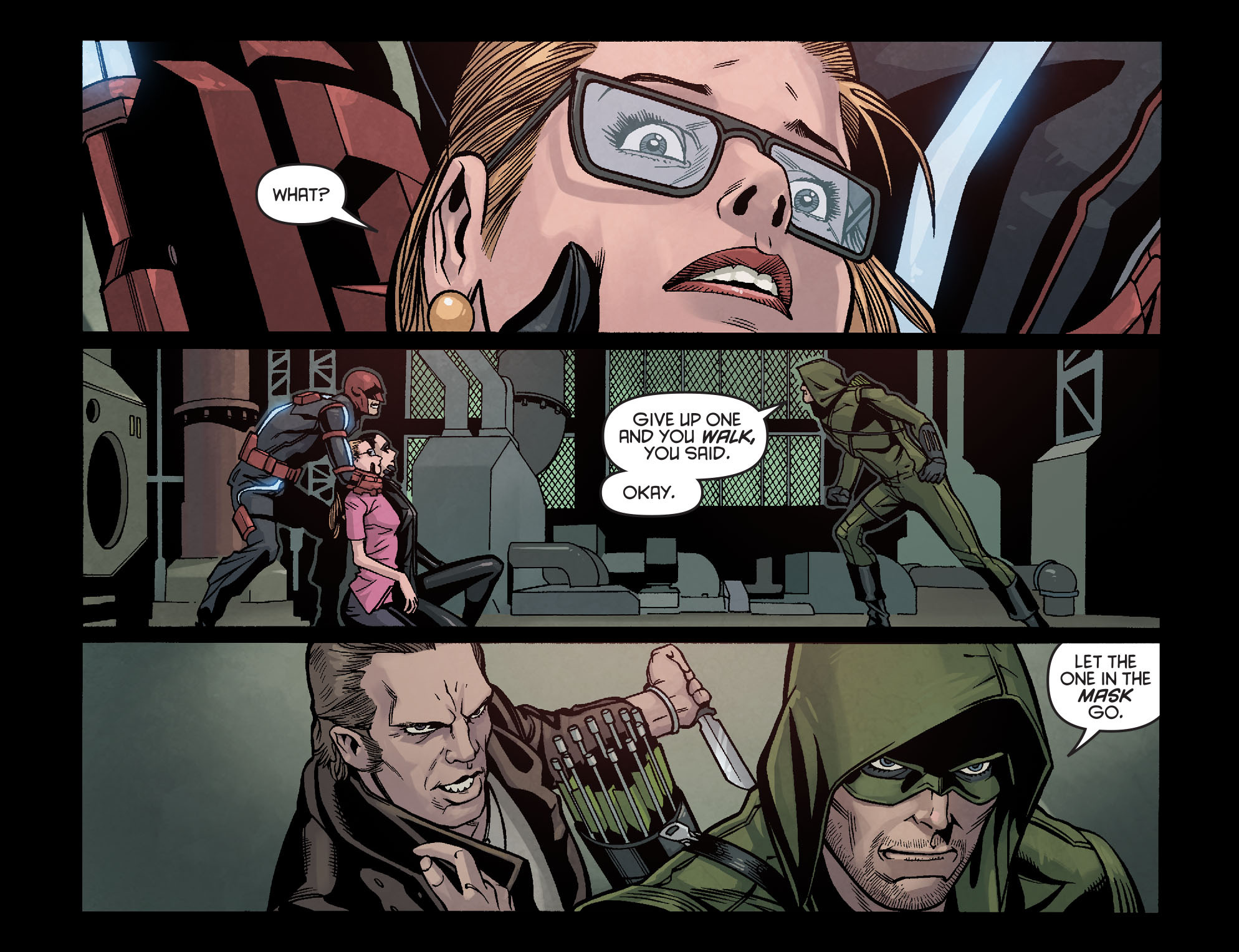 Read online Arrow: Season 2.5 [I] comic -  Issue #16 - 3