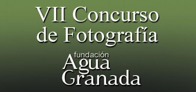 Concurso Fotográfico 2019 de la Fundación Agua Granada
