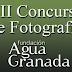 Concurso de Fotografía Granada: Paisajes del Agua