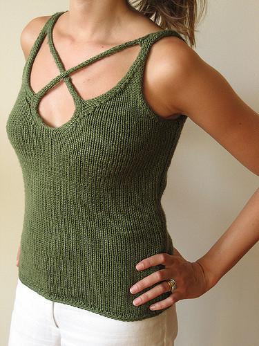 Adrienne Vittadini knitting pattern, knit by Dayana Knits