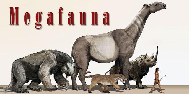 ice age giant mammals megafauna