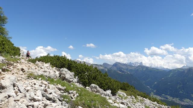 Panoramaweg am Rosengarten, Dolomiten