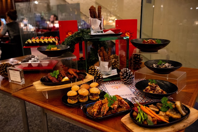 SENTIDOS GASTROBAR – THE LATIN GRILL - Tapas Dishes For New year 2019