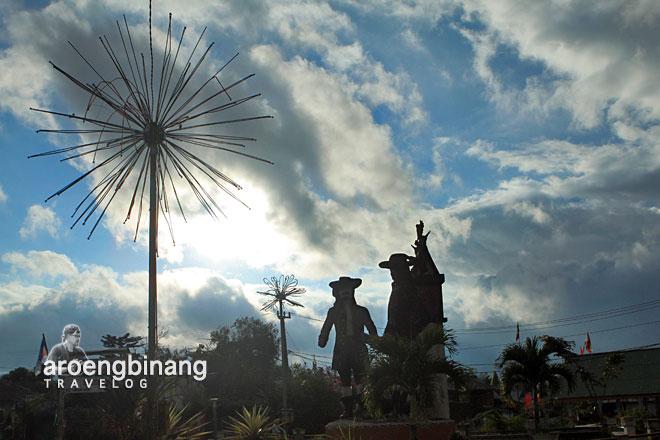 kisah heroik patung sarapung korengkeng tondano minahasa sulawesi utara