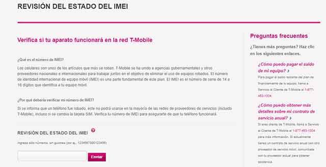 Como saber si un telefono esta bloqueado por IMEI