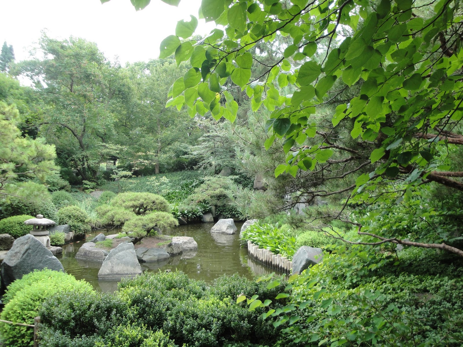 Japanese Garden At The Minnesota Landscape Arboretym