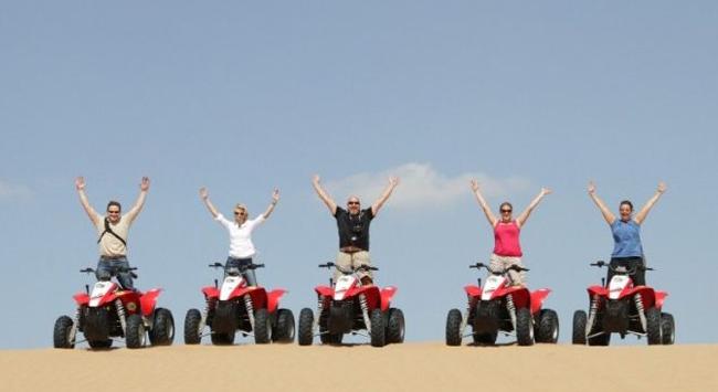 desert motorbike safari