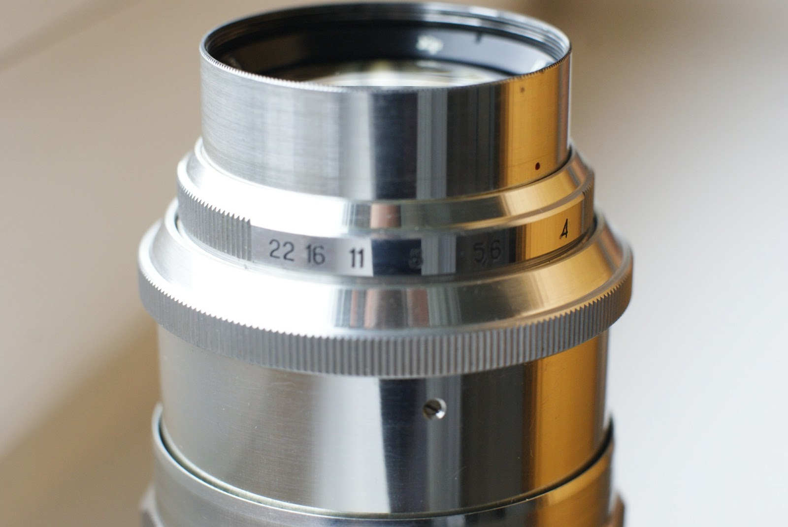 Jupiter-11 4 / 135 M39 to M42 Adapter Ring