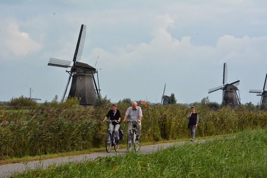 Kinderdijk cycling
