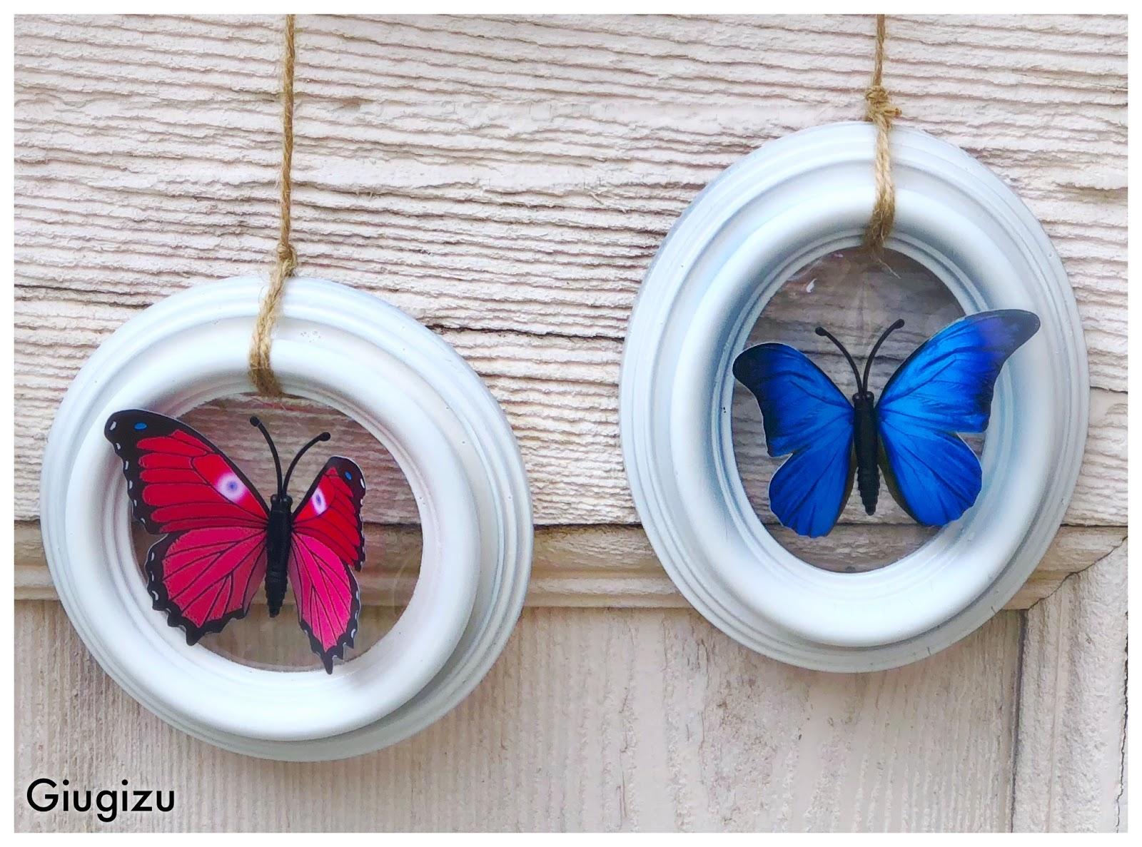 Farfalle Decorative Fai Da Te d.i.y. wall decor using old frames - decorazione da parete