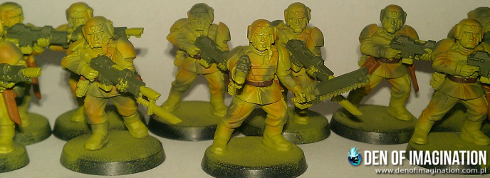 Blog - How to paint - Imperial Guard infantry tutorial