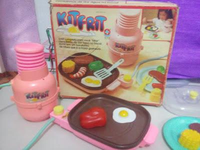 Kit Frit - Brinquedo da Estrela anos 80