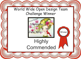 Highly Commended Winner at World Wide Design Team