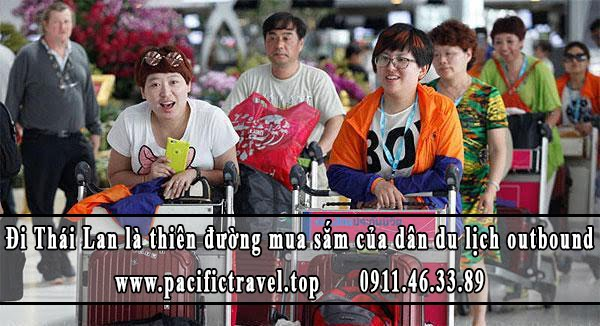 Đi Thái Lan là thiên đường mua sắm của dân du lịch outbound