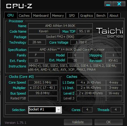 Cek spek processor lewat CPU-Z