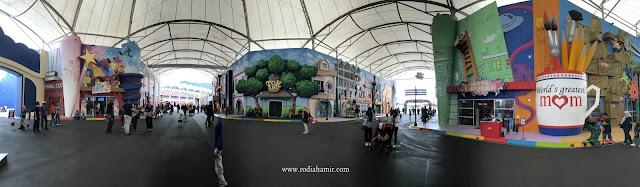 Panorama Movie Animation Park Studios (MAPS) Ipoh