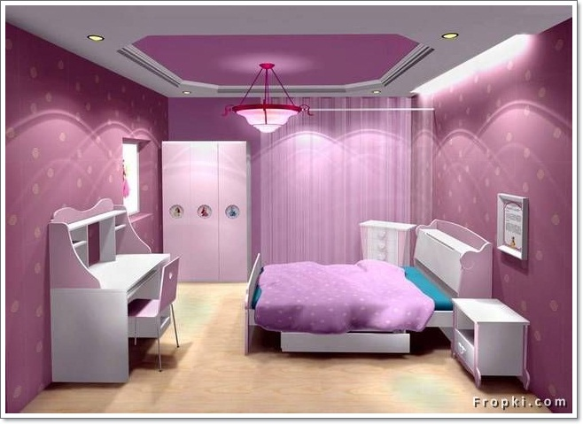 Dekorasi Bilik Tidur Berwarna Purple