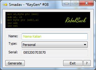 Smadav Keygen - Aplikasi