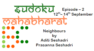 Neighbours Sudoku Mahabharat 2016 Episode-2