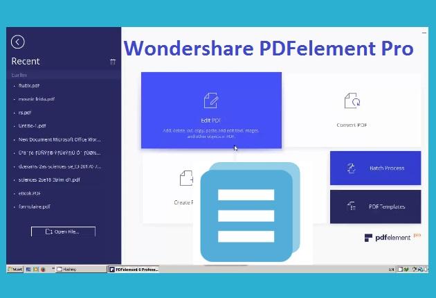 wondershare pdfelement free