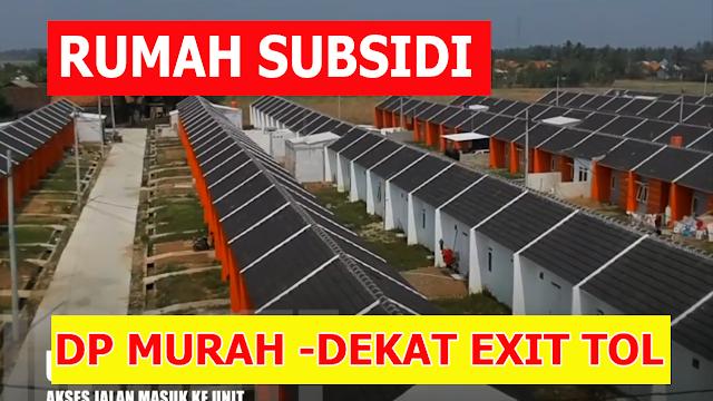 Rumah Subsidi Dekat Exit Tol Cilincing- Griya Srimahi Indah 2018