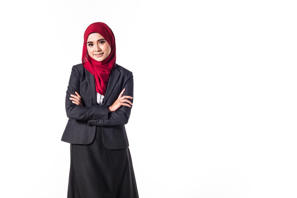 Baju Muslim Dari Kain Songket - Voal Motif