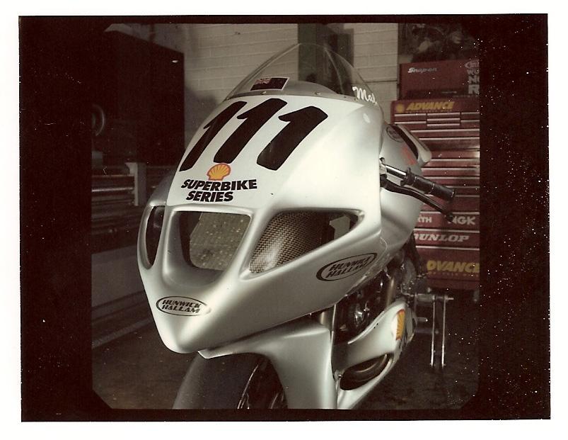 Hunwick Hallam X1R Superbike