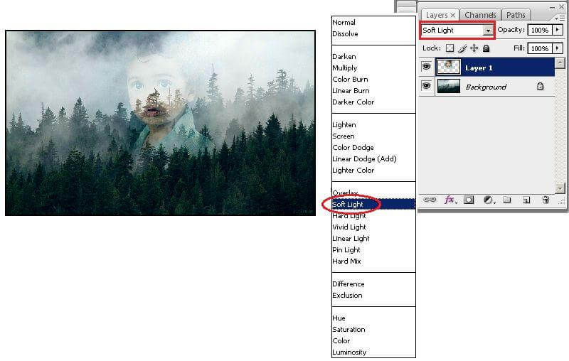 cara menggunakan layers pada photoshop