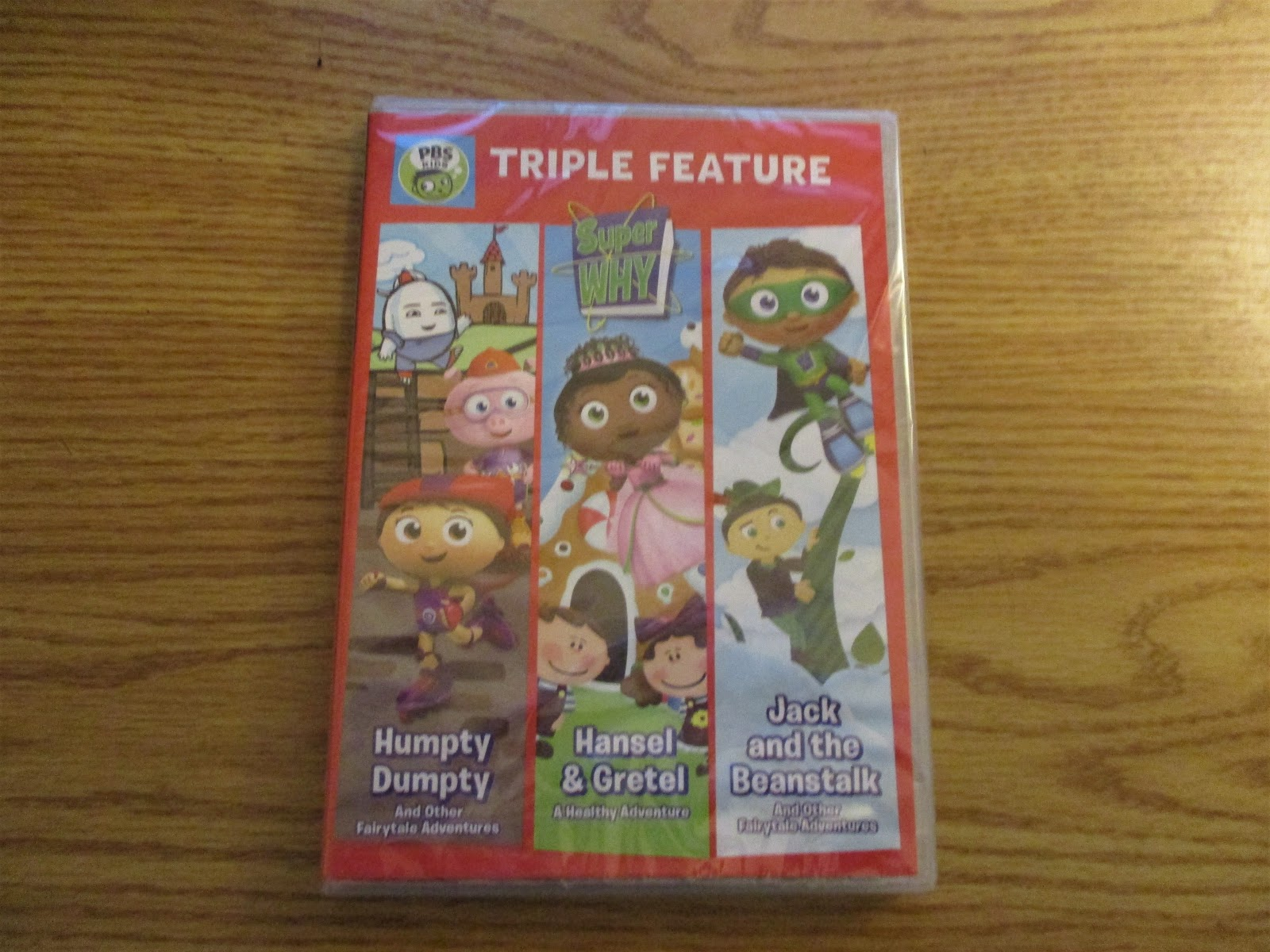 Missys Product Reviews Super Why Triple Feature
