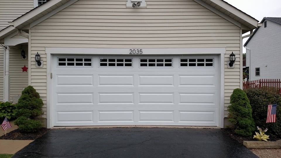 Elegant New Garage Door Color!