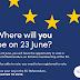 When do the EU referendum polls open?