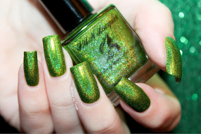 "Swatch of the nail polish ""Mowed Meadow"" by F.U.N. Lacquer"