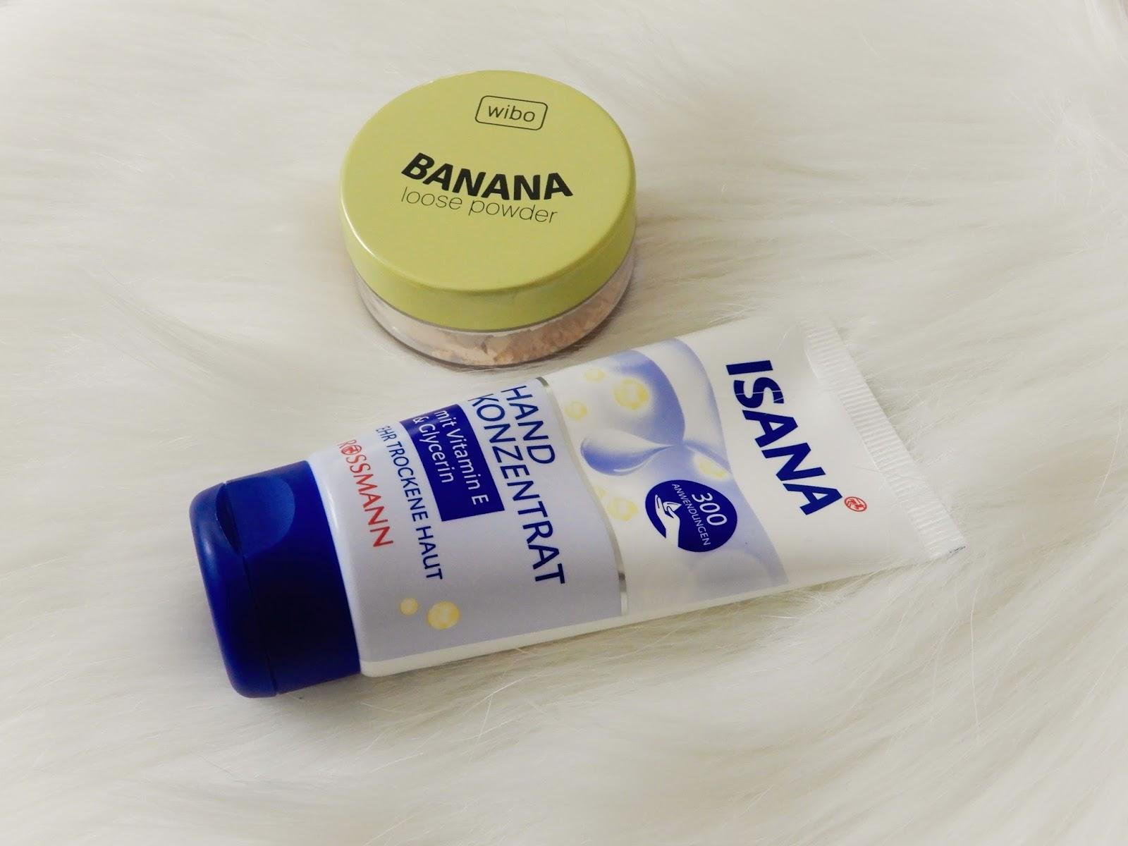 WIBO Banana Loose Powder, Isana hand konzentrat,