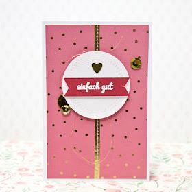 Karte pink