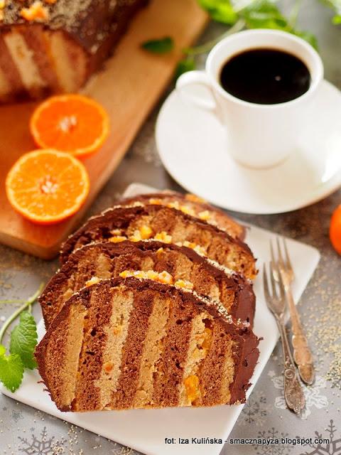ciasto karmelowe, ciasta domowe, domowe wypieki, krem kawowy, biały mak, krem makowy, dwa kremy, ciasta swiateczne, boze narodzenie