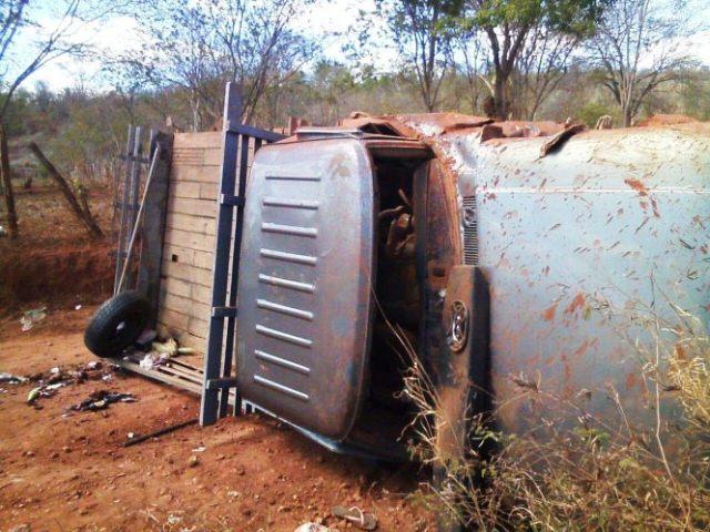 Grave acidente em estrada vicinal de Nova Redenção com vítima fatal